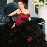 Black Quinceanera Dresses