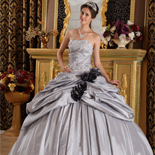 Grey Quinceanera Dresses