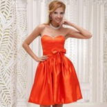 Orange Red Bridesmaid Dresses