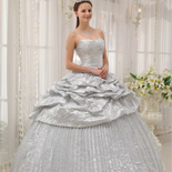 Silver Quinceanera Dresses