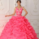 Watermelon Quinceanera Dresses