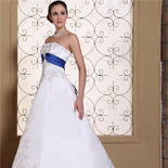 Wedding Dresses with Blue Color