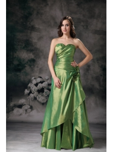 Discount Green Prom Dress Column Sweetheart