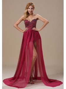 Sweetheart Beaded Bodice and Chiffon In Tallahassee Florida For Prom Dress