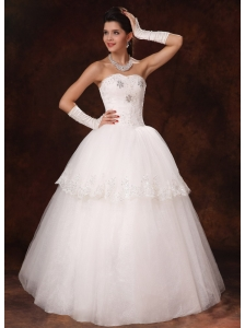 Lace Beaded Sweetheart Church Wedding Dress For Customize Hottest In Orange Beach Alabama