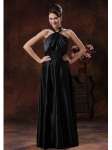 Black Empire Halter Bridesmiad Dress In 2013 Casa Grande Arizona