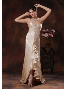 Champagne Brush Train Mother Of The Bride Dress In Montgomery Alabama