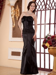 Brown Custom Made For Prom Dress With Floor-length Column