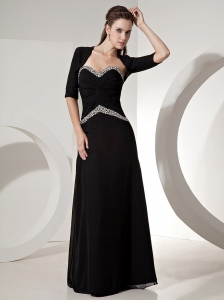 2013 Sweetheart Beaded Chiffon Mother of the Bride Dress With Jacket