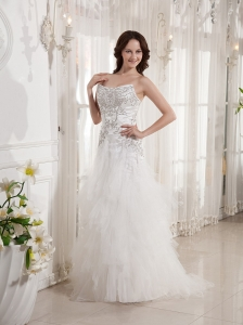 Beaded and Appliques Bodice In Mount Gambier SA For Cheap Wedding Dress