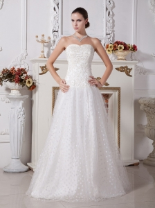 A Line Wedding Dresses 2013