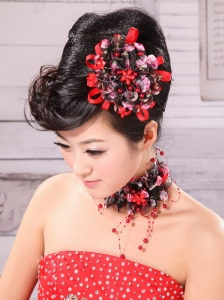 Colorful Fabric and Little Flowers For Headpieces