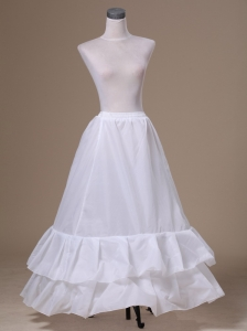 Popular Taffeta Floor-length Petticoat