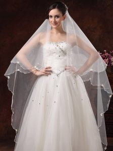 Royal Discount Tulle Bridal Veils For Wedding