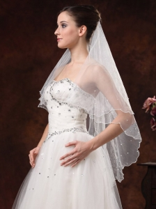 Two-tier Tulle Bridal Veils On Sale