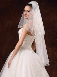 Two-tiers Tulle Graceful Wedding Veils