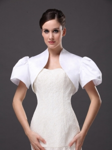 White Satin Jacket For Wedding and Other Occasion
