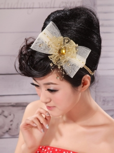 Bowknot and Rhinestone For Lovely Headpieces