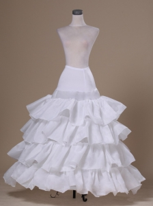 Ruffled Layers Ball Gown Taffeta For Prom Petticoat