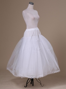 Tulle Floor-length White Petticoat