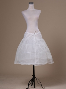 White Tulle Mini-length Petticoat