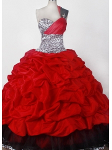 Elegant Ball Gown One Shoulder Floor-length Little Girl Pageant Dress