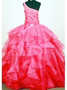 Shoulder Dress on Little Girls Pageant Dresses Flower Girl Dresses Gowns For Little