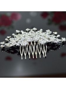 Cute Tiara Adorned With Shining Rhinestone