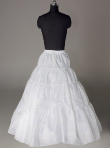 A-line Taffeta Floor-length Wedding Petticoat