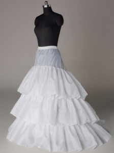 Beautiful Hot Selling Organza Floor-length Wedding Petticoat