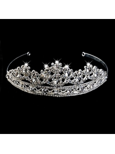 Exclusive Tiara With Splendid Carve Patterns