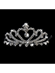 Pretty Princess Tiara With Rhinestones
