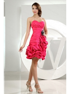 Hot Pink Sweetheart Ruch Pick-ups Dama Dress 2013