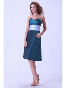 Sweetheart and Knee-length Discount Dama Dress