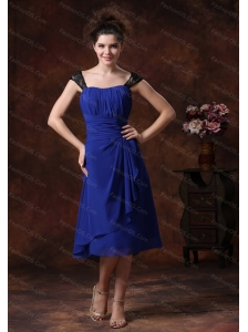 Cheap Straps Navy Blue 2013 Dama Dress On Sale