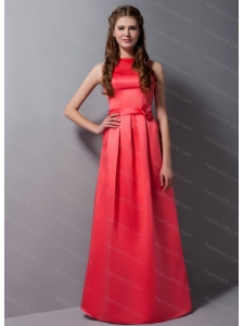 High Neck Red 2013 Dama Dress On Sale