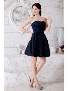 Princess Mini-length Taffeta Ruch Elegant Dama Dress