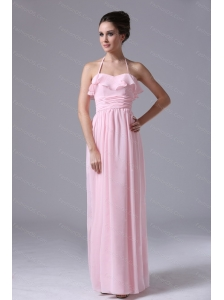 2013 Custom Made Pink Halter Dama Dress Online