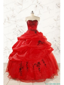 Prefect Sweetheart Quinceanera Dresses for 2015
