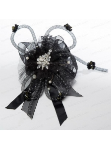 2014 New Arrival Fascinators with Beading Imitation Pearls and Rhinestone