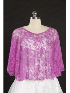 Summer Beading Lace Pink Hot Sale Wraps for 2014