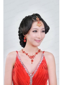 Alloy With Clear Rhinestone Ladies' Jewelry Sets