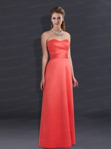 Cheap Ruching 2015 Prom Dresses with Sweetheart