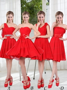 The Brand New Style Prom Dress Chiffon Ruching with A Line