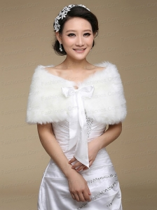 2015 High Quality Bridal Shawl with Open Front