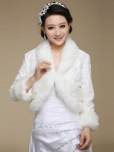 Brand New Long Sleeves Faux Fur Wraps for 2015