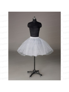 Most Popular Organza Ball Gown Mini-Length Petticoat in White