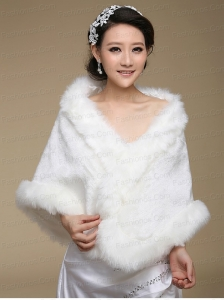 Top Selling Open Front Wraps in White
