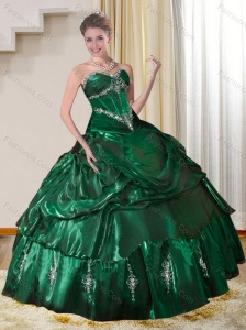 Dark Green Quinceanera Dresses,Hunter Green Quinceanera Gowns ...