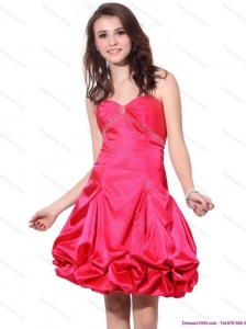 Sweetheart Pretty Prom Dresses with Pick Ups and Beading